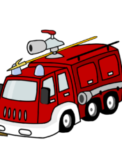 SuperMocny wóz strażacki
